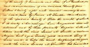 Slave Deeds – Buncombe County