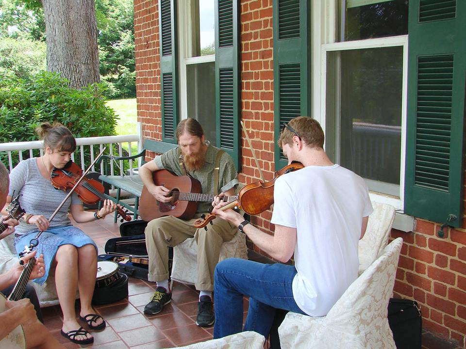 Jamming at the Museum: Front Porch Old-Time Jam and Lawn Party @ Smith-McDowell House